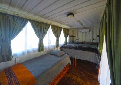The Satya Room at Danyasa Yoga Retreat and Eco Lodge in Dominical Costa Rica