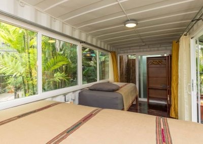 King Suite surrounded by jungle greenery at Danyasa Yoga Retreat in Costa Rica