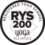 Yoga Alliance Registered Yoga School RYS 200 logo