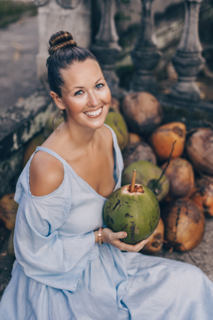 Lacey Budge chef and yoga teacher