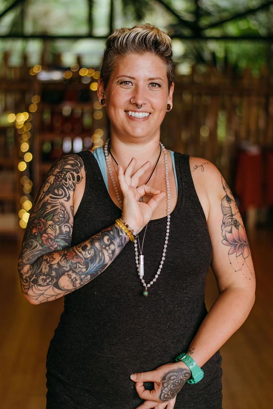 Colynn Vosburgh yoga lead instructor YTT