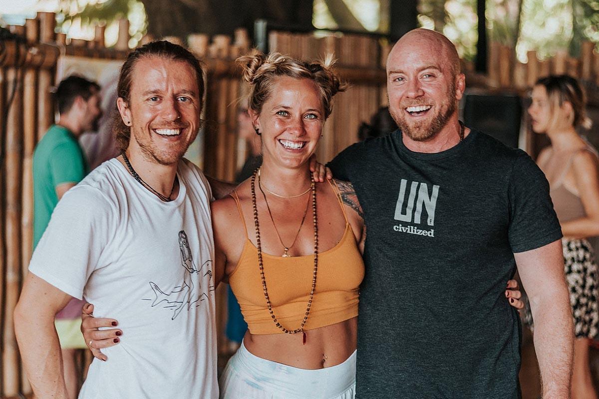Yoga Teachers at Danyasa Eco-Retreat Yoga Studio